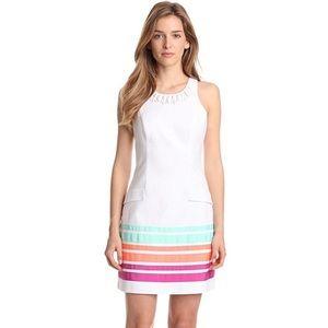 NEW Lilly Pulitzer Pearl Swirl Resort White Dress
